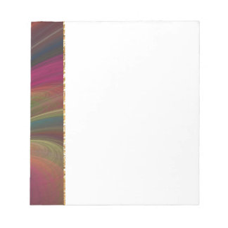 Colorful Soft Sand Waves Notepad