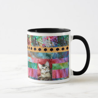 Colorful Somali Cat Surprise Mug