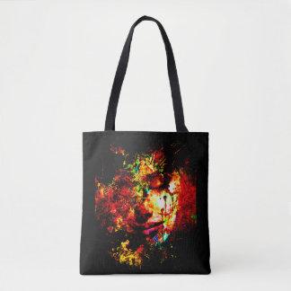colorful sorrow fashion art for bag