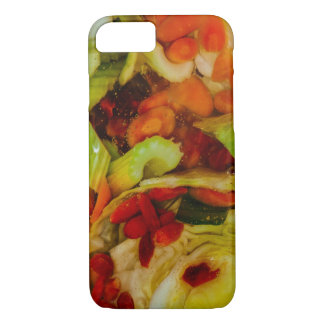 Colorful Soup Abstraction iPhone 7 Case