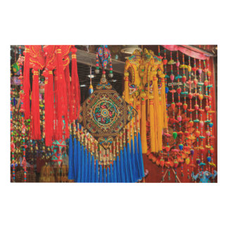Colorful souvenirs in a shop, China Wood Canvases