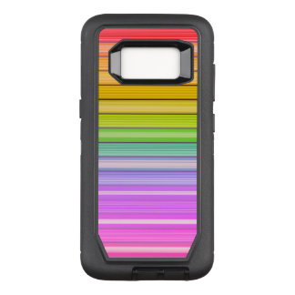 Colorful Spectrum Pattern OtterBox Defender Samsung Galaxy S8 Case