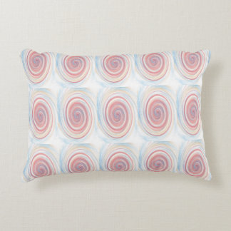 Colorful Spin Patterned Accent Pillow