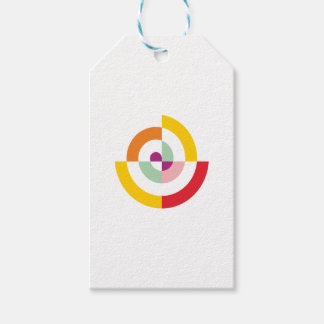 Colorful Spiral Gift Tags