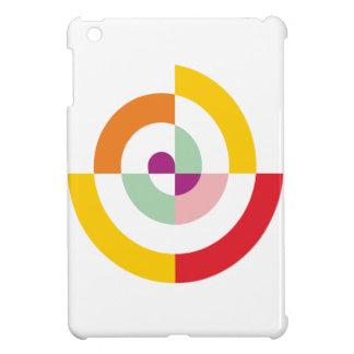 Colorful Spiral iPad Mini Cover