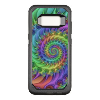Colorful Spiral Pattern Design OtterBox Commuter Samsung Galaxy S8 Case