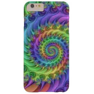 Colorful Spiral Pattern Print Design Barely There iPhone 6 Plus Case