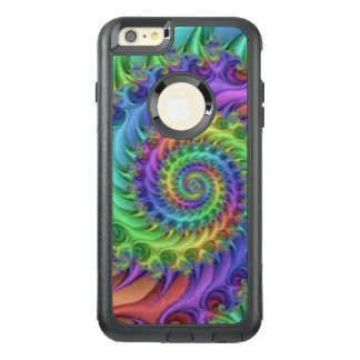 Colorful Spiral Pattern Print Design OtterBox iPhone 6/6s Plus Case