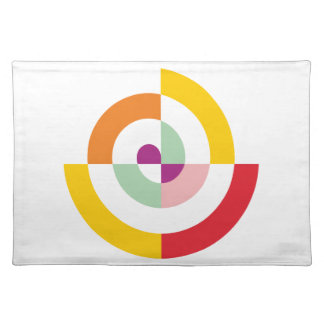 Colorful Spiral Placemat