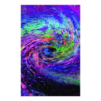 Colorful spiral stationery