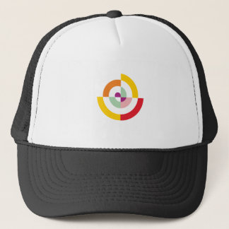 Colorful Spiral Trucker Hat