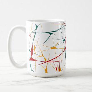 Colorful Splatter Shapes Mug