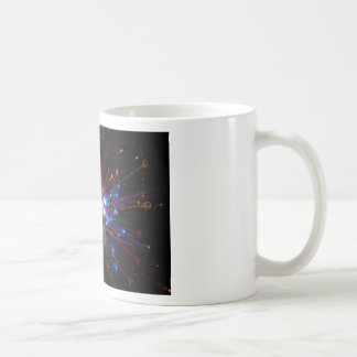 Colorful spot coffee mug