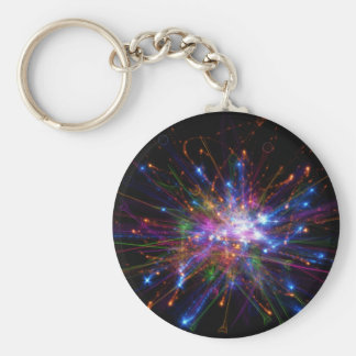 Colorful spot keychain