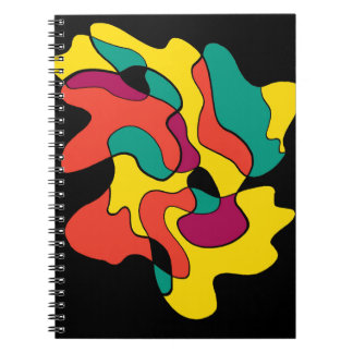 Colorful spot note book