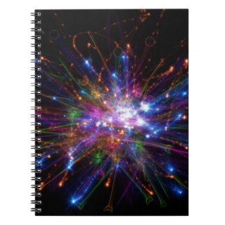 Colorful spot notebook