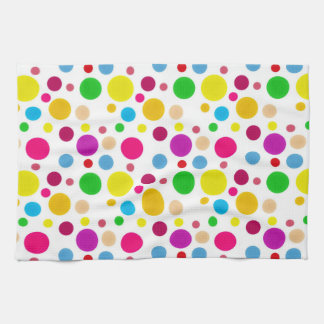 Colorful Spots Kitchen Towel
