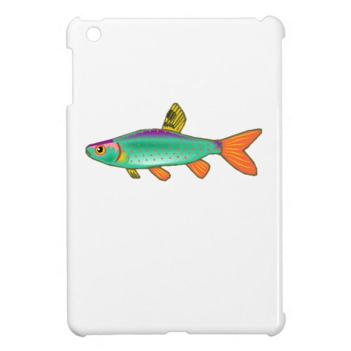 Colorful Spotted Fish Case For The iPad Mini