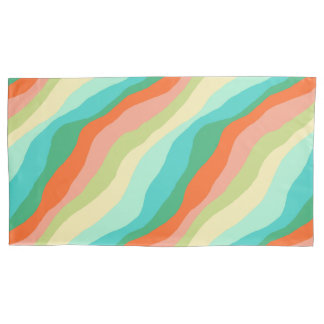 Colorful Spring Abstract Pattern Pillowcase