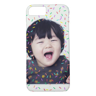 Colorful Sprinkles Custom Photo iPhone 8/7 Case