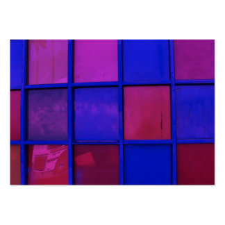 colorful squares atc aceo large business card