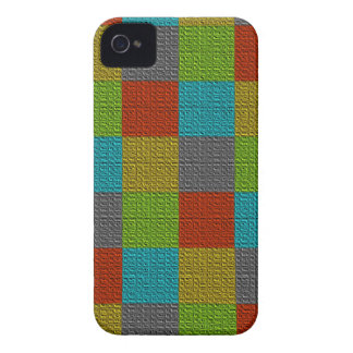 Colorful Squares Patchwork Case-Mate iPhone 4