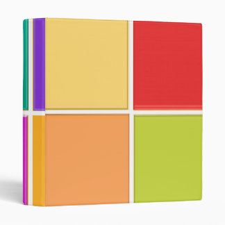 COLORful SQUARES Positive : lowprice business file Binders