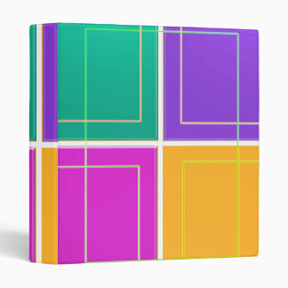 COLORful SQUARES Positive : lowprice business file Vinyl Binders