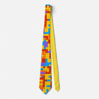 Colorful Stacking Toy Blocks Whimsical Tie