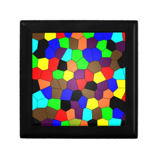 Colorful Stained Glass Mosaic Tiles Gift Box