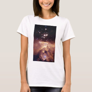 Colorful Star Cluster and Nebula T-Shirt
