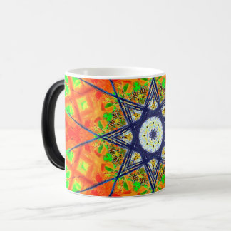 Colorful Star Mandala Magic Mug