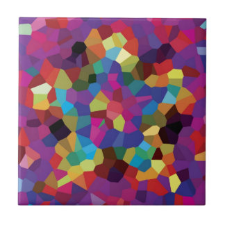 Colorful Star Mosaic Tiles
