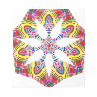Colorful Star Notepad