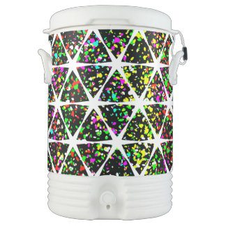 Colorful Star Pattern Drinks Cooler