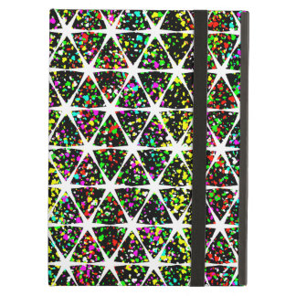 Colorful Star Pattern iPad Air Cover