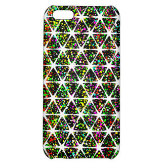 Colorful Star Pattern iPhone 5C Covers