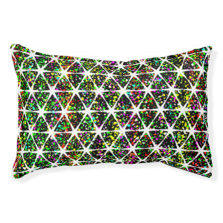 Colorful Star Pattern Pet Bed