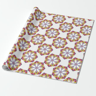 Colorful Star Wrapping Paper