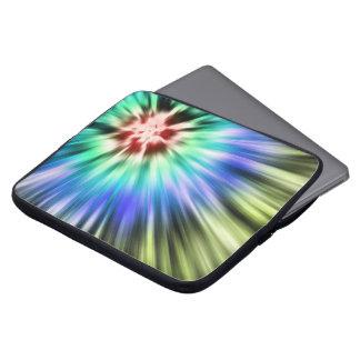 Colorful Starburst Tie Dye Laptop Sleeve