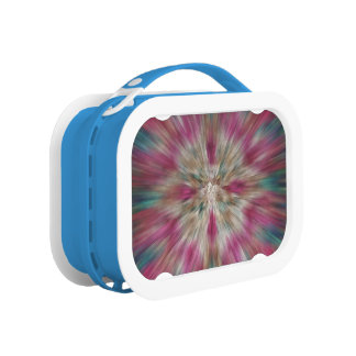 Colorful Starburst Tie Dye Lunchboxes