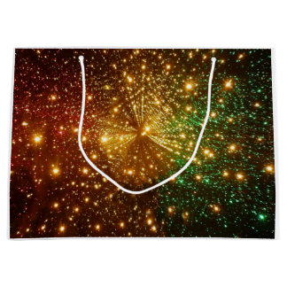 Colorful Starry Sky Large Gift Bag