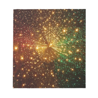 Colorful Starry Sky Notepad