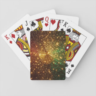 Colorful Starry Sky Playing Cards