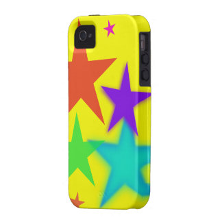 Colorful Stars iPhone 4/4S Hard Case Case For The iPhone 4