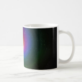 Colorful Stars Swirling Towards a Bright Center Coffee Mug