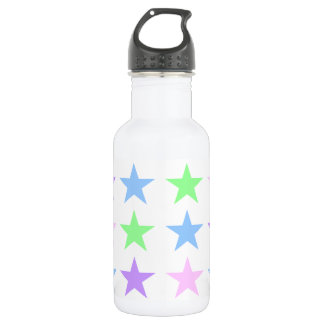 Colorful Stars Water Bottle