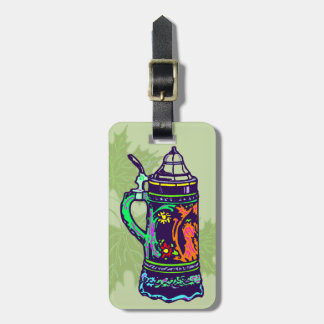 Colorful Stein Luggage Tag