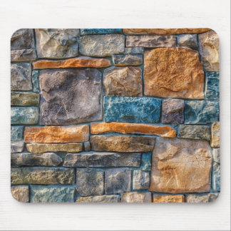 Colorful Stone Pattern Mouse Pad