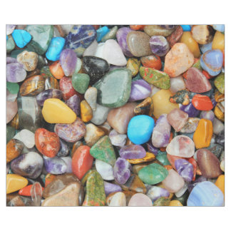 Colorful stones, pebbles, rocks wrapping paper